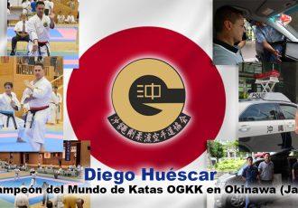 Diego, campeón del mundo de katas